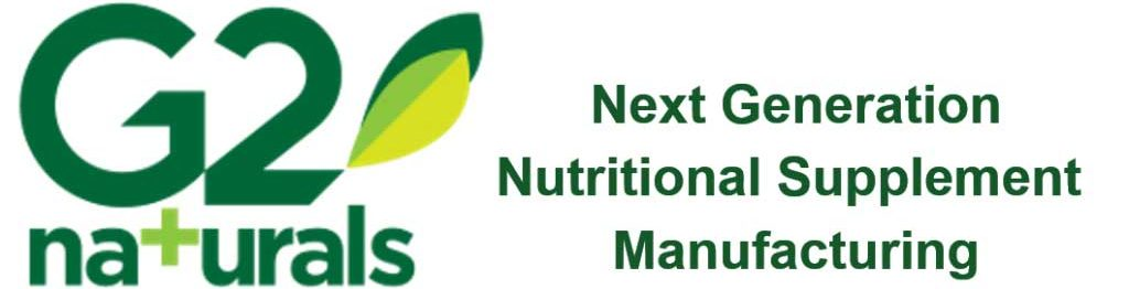 G2 Naturals - Next Generation Nutritional Supplement Manufacturing